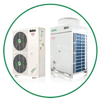 A+ HiE系列变频地暖中央空调
